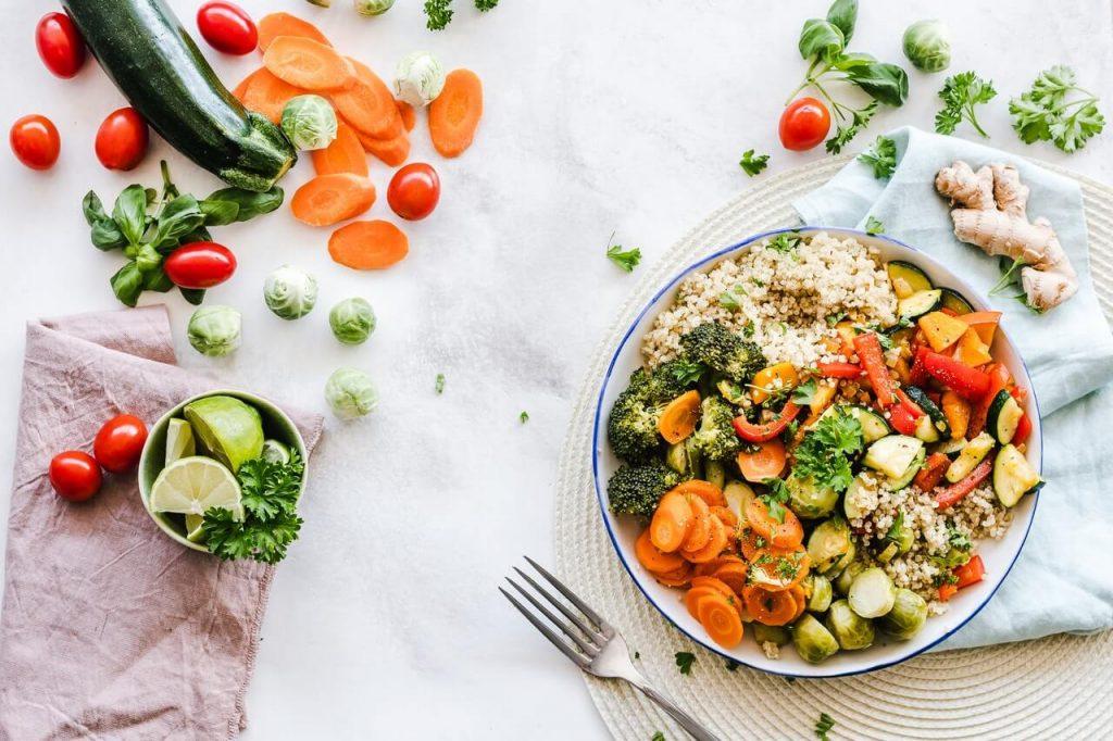 come ritornare in forma con l'alimentazione